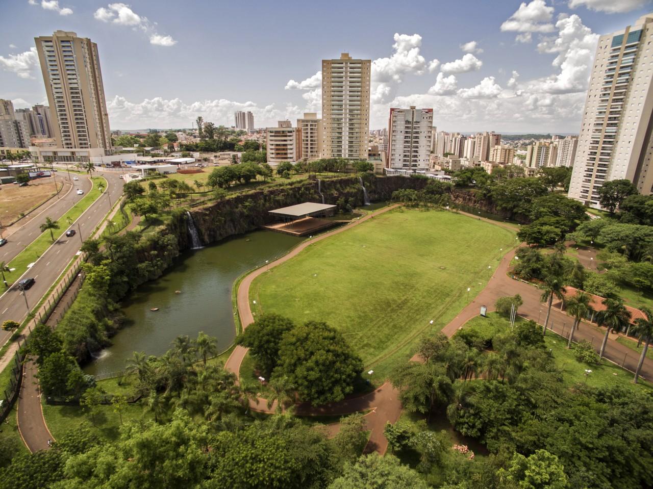Parque em Ribeirão Preto